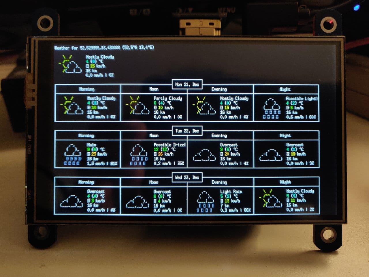 ASCII Weather Station | Details | Hackaday.io